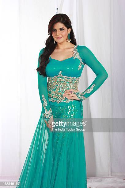 Zarine Khan at the Gr8 Women's Achievers Awards 2013 at Hotel Lalit in Mumbai