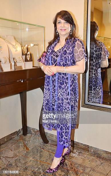 Zarine Khan at the unveiling of designer Farah Khan Ali's latest festive collection in Mumbai