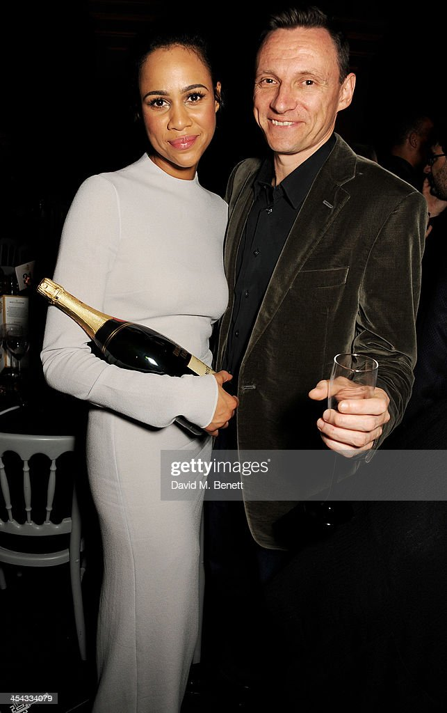 Zawe Ashton (L) and Zygi Kamasa attend an after party following the Moet British Independent Film Awards 2013 at Old Billingsgate Market on December 8, 2013 in London, England.