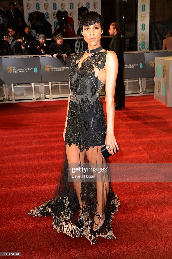 Zawe Ashton attends The EE British Academy Film Awards 2013 at The Royal Opera House on February 10, 2013 in London, England.