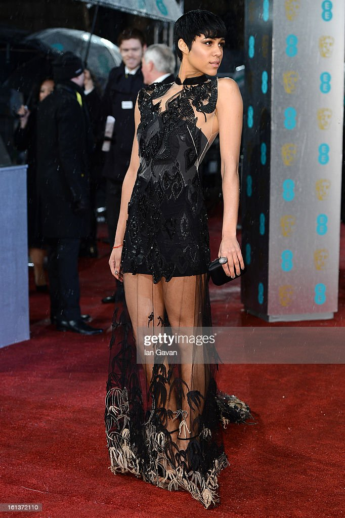 Zawe Ashton attends the EE British Academy Film Awards at The Royal Opera House on February 10, 2013 in London, England.