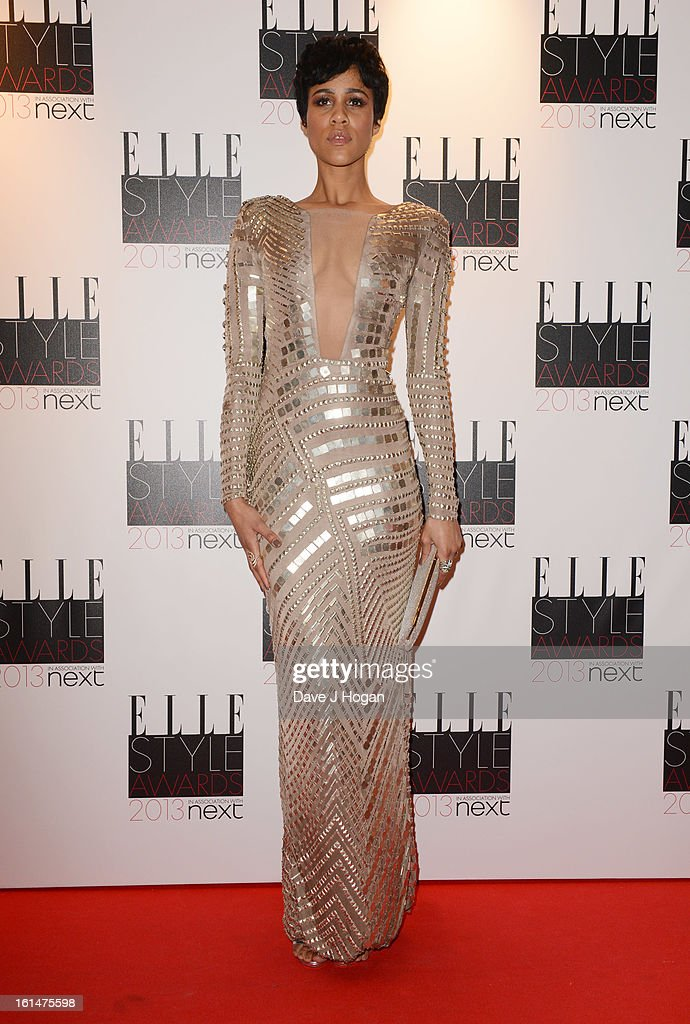 Zawe Ashton attends The Elle Style Awards 2013 at The Savoy Hotel on February 11, 2013 in London, England.