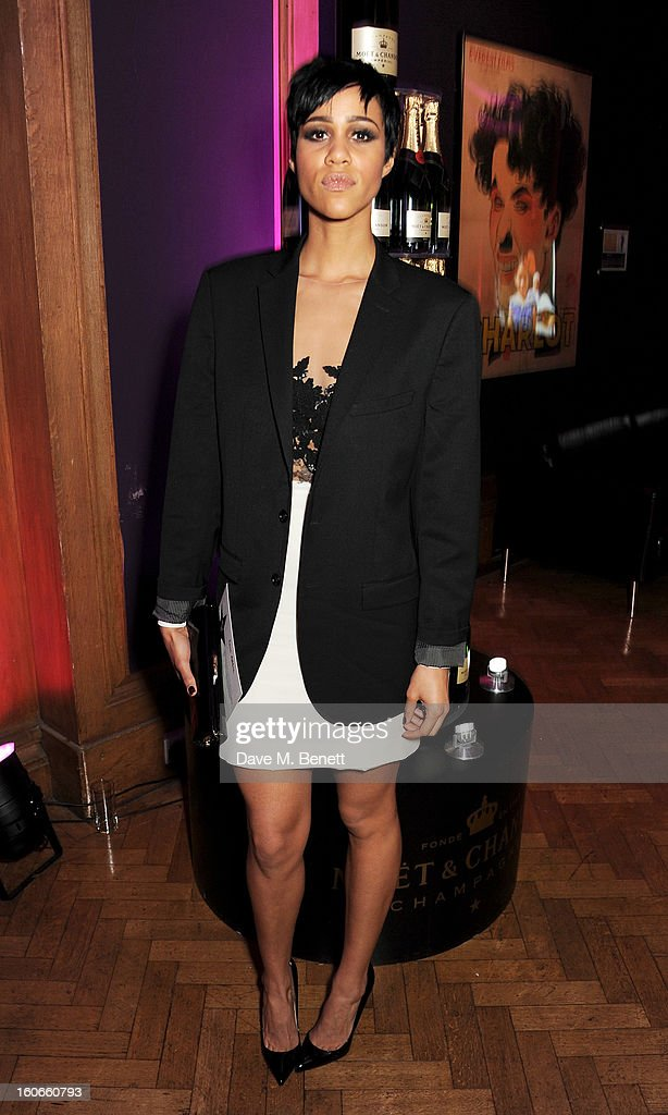 Zawe Ashton attends the London Evening Standard British Film Awards supported by Moet & Chandon and Chopard at the London Film Museum on February 4, 2013 in London, England.
