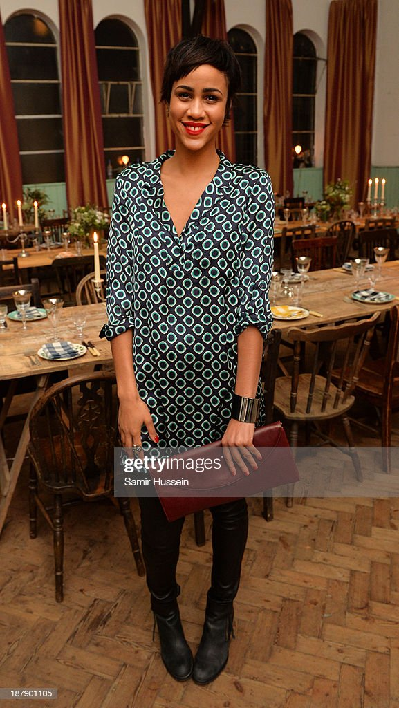 <a gi-track='captionPersonalityLinkClicked' href=/galleries/search?phrase=Zawe+Ashton&family=editorial&specificpeople=6579709 ng-click='$event.stopPropagation()'>Zawe Ashton</a> attends the Soho House and Grey Goose party to celebrate the CineCity film festival on November 13, 2013 in Brighton, England. Guests enjoyed a three course sharing menu prepared by Soho House and Grey Goose cocktails.