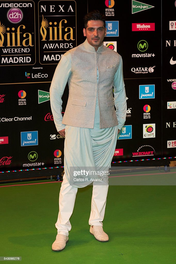 Zayed Khan attends the 17th IIFA Awards (International Indian Film Academy Awards) at Ifema on June 25, 2016 in Madrid, Spain.