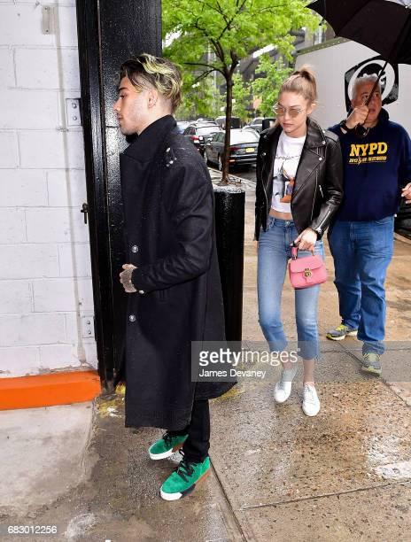 Zayn Malik and Gigi Hadid seen on the streets of Brooklyn on May 13 2017 in New York City