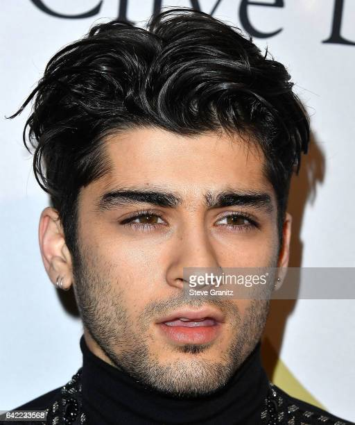 Zayn Malik arrives at the PreGRAMMY Gala and Salute to Industry Icons Honoring Debra Lee on February 11 2017 in Los Angeles California