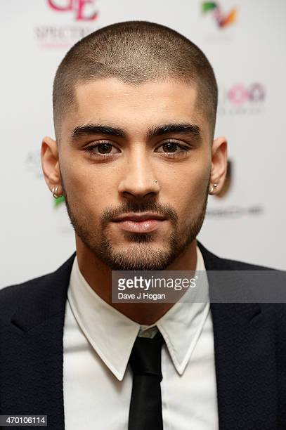 Zayn Malik attends The Asian Awards 2015 at The Grosvenor House Hotel on April 17 2015 in London England