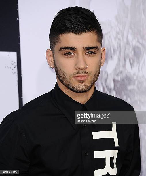 Zayn Malik attends the premiere of 'Straight Outta Compton' at Microsoft Theater on August 10 2015 in Los Angeles California