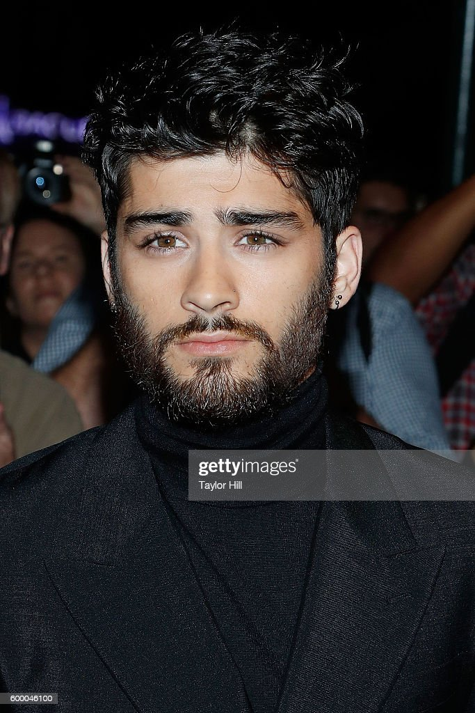 Zayn Malik attends the Tom Ford Fall 2016 fashion show during New York Fashion Week September 2016 at The Four Seasons on September 7, 2016 in New York City.