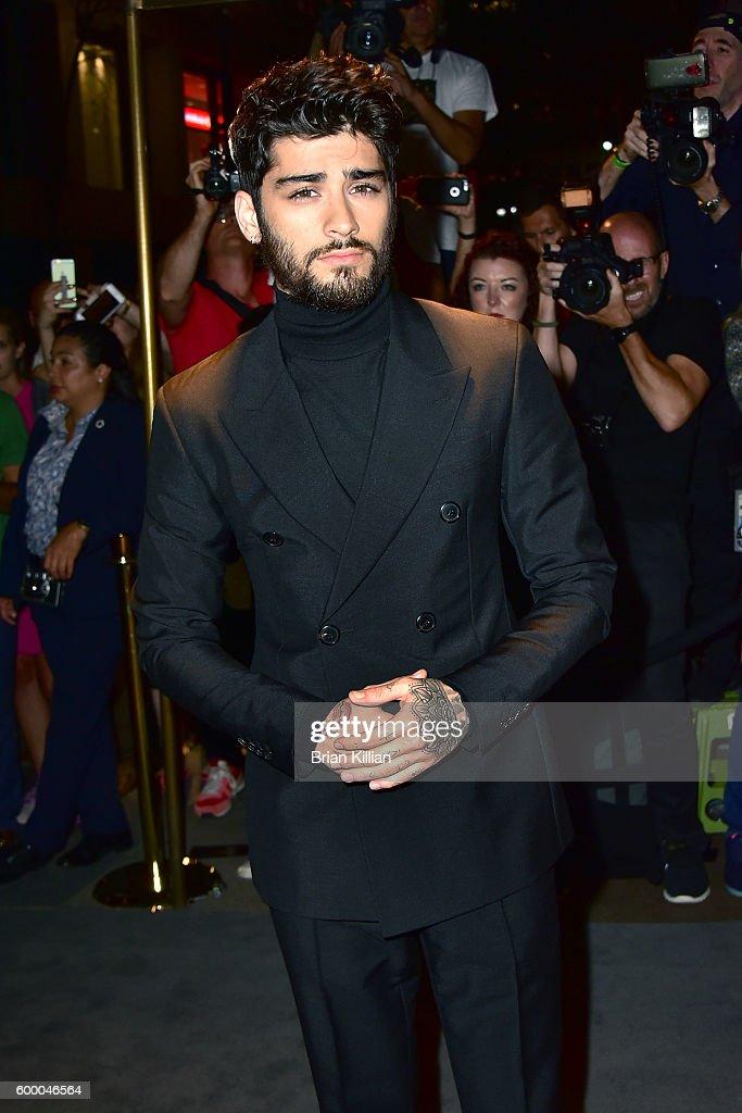 Zayn Malik attends the Tom Ford September 2016 New York Fashion Week show on September 7, 2016 in New York City.