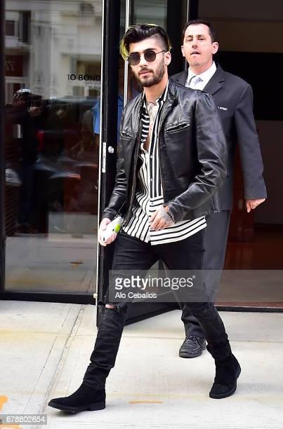 Zayn Malik is seen in Noho on May 4 2017 in New York City