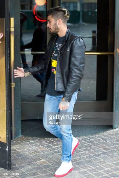 Zayn Malik is seen in Tribeca on May 7 2017 in New York City