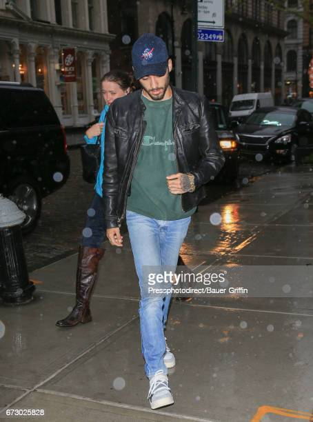 Zayn Malik is seen on April 25 2017 in New York City