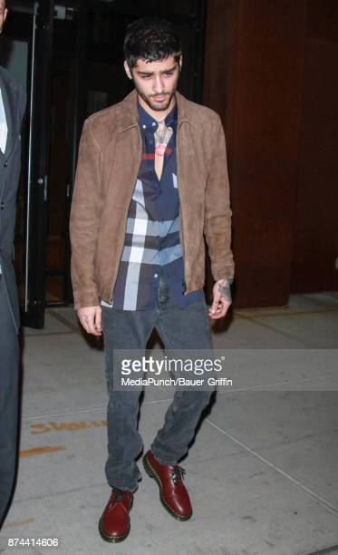 Zayn Malik is seen on November 14 2017 in New York City