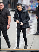 Zayn Malik of the band 'One Direction' is seen at 'Jimmy Kimmel Live' on November 20 2014 in Los Angeles California