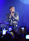 Zayn Malik performs onstage at ZAYN Album Release Party On The Honda Stage at the iHeartRadio Theater on March 25 2016 in New York City