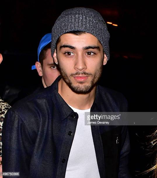 Zayn Malik seen on the streets of Manhattan on November 11 2015 in New York City