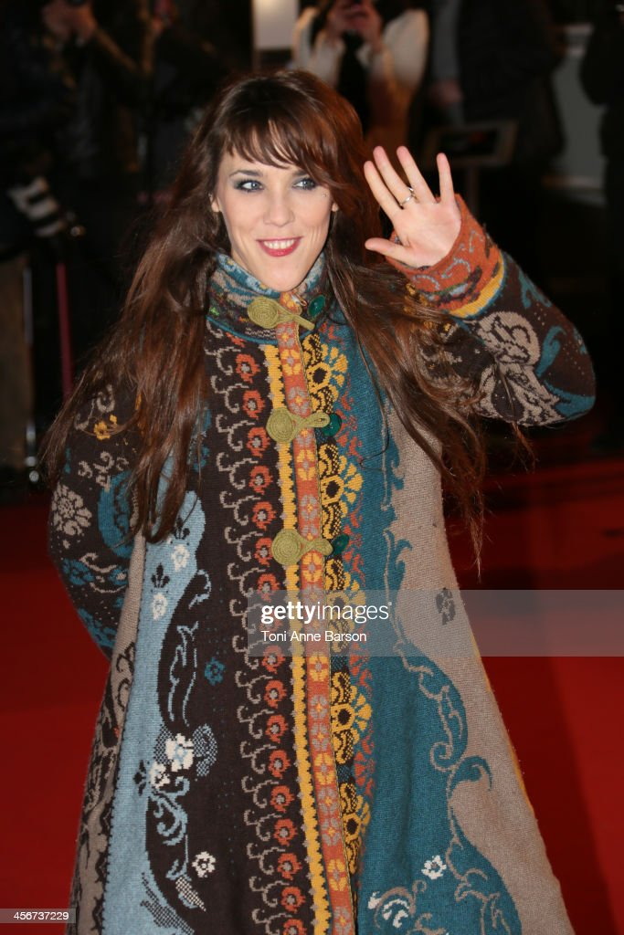Zaz aka Isabelle Geffroy arrives at the 15th NRJ Music Awards at the Palais des Festivals on December 14, 2013 in Cannes, France.