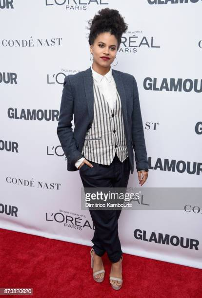 Zazie Beetz attends Glamour's 2017 Women of The Year Awards at Kings Theatre on November 13 2017 in Brooklyn New York
