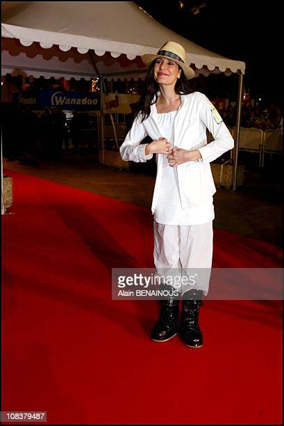Zazie in Cannes France on January 19 2002