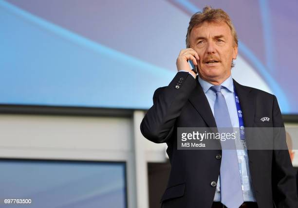 Zbigniew Boniek during the UEFA European Under21 match between Denmark and Italy at Cracovia stadium on June 18 2017 in Krakow Poland