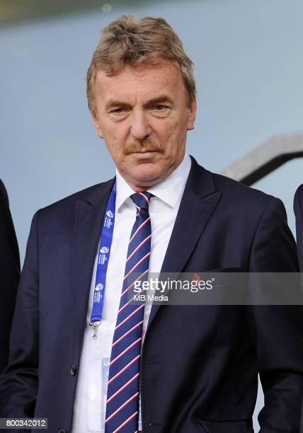 Zbigniew Boniek during the UEFA European Under21 match between England and Poland at Kolporter Arena on June 22 2017 in Kielce Poland