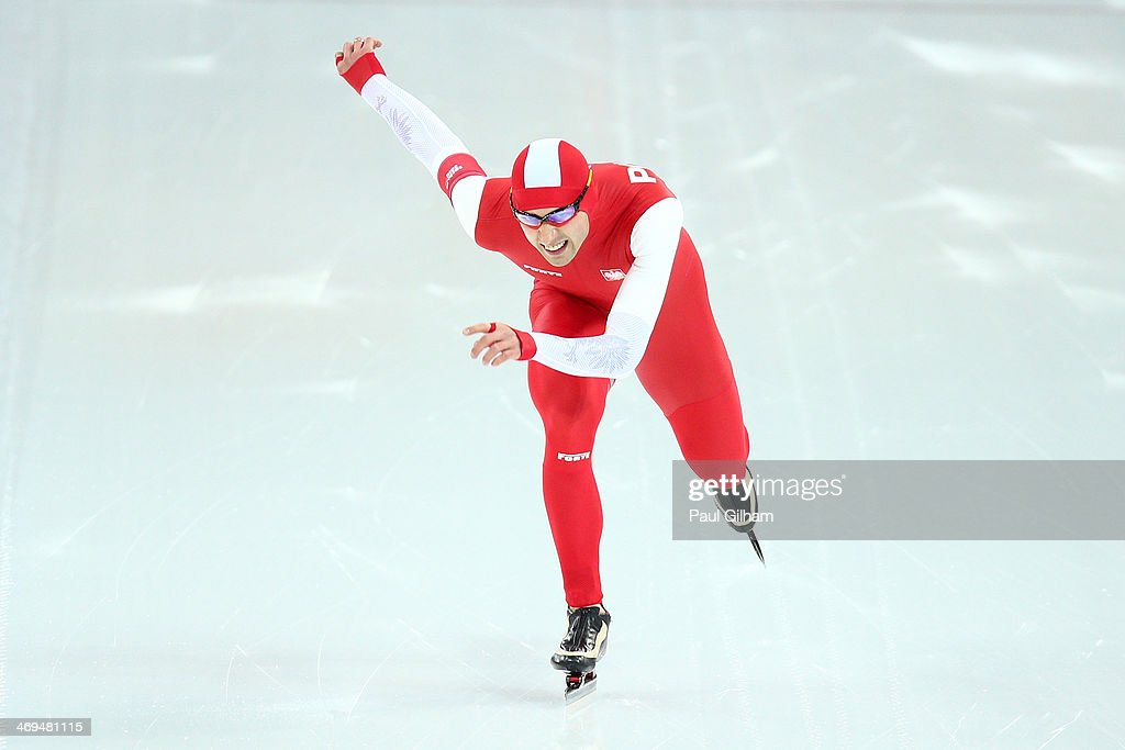 Zbigniew Brodka of Poland competes during the Men's 1500m Speed Skating event on day 8 of the Sochi 2014 Winter Olympics at Adler Arena Skating Center on February 15, 2014 in Sochi, Russia.