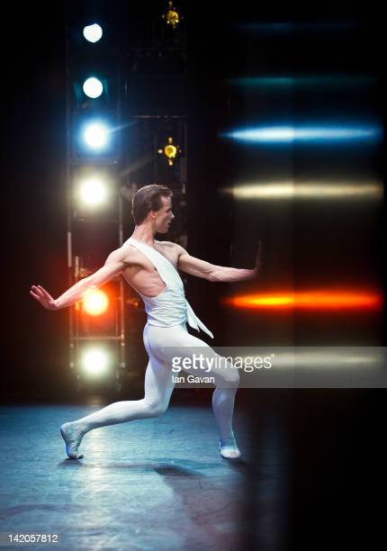 Zdenek Konvalina of the English national Ballet performs Apollo as part of Beyond Ballet Russes' at the Coliseum on March 28 in London England