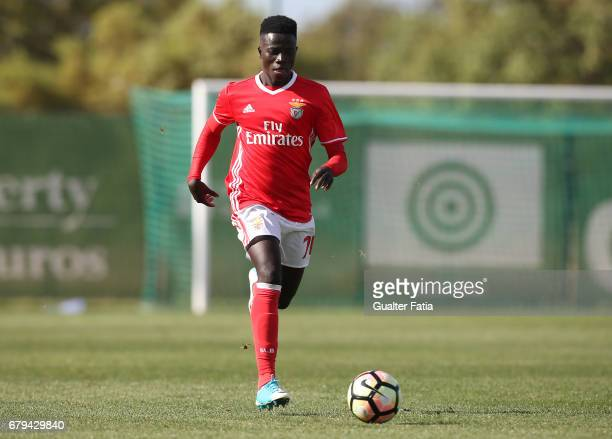 Ze Gomes of SL Benfica B in action during the Segunda Liga match between Sporting CP B and SL Benfica B at CGD Stadium Aurelio Pereira on May 5 2017...