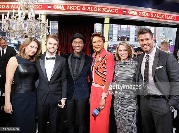 AMERICA Zedd Aloe Blacc perform live on GOOD MORNING AMERICA 3/25/16 airing on the ABC Television Network ZEDD ALOE