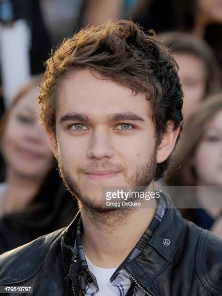 Zedd arrives at the Los Angeles premiere of 'Divergent' at Regency Bruin Theatre on March 18 2014 in Los Angeles California