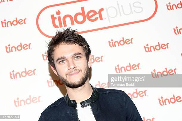 Zedd attends the Tinder Plus Launch Party featuring Jason Derulo and ZEDD at Hangar 8 Santa Monica at Barker Hangar on June 17 2015 in Santa Monica...