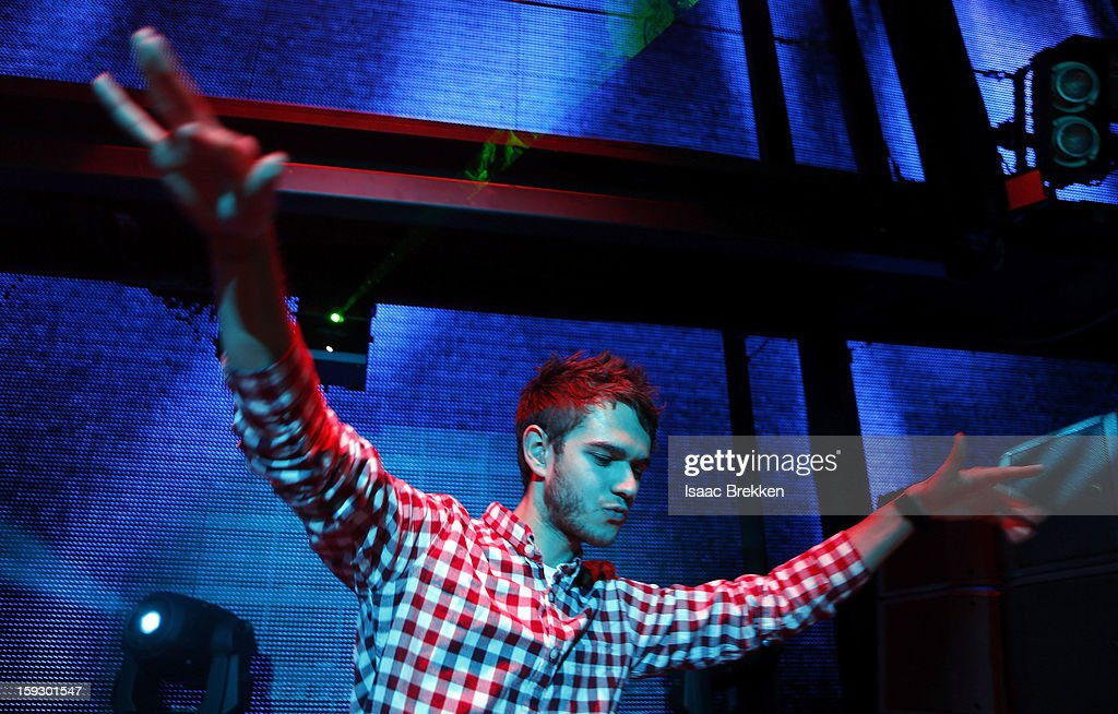 DJ <a gi-track='captionPersonalityLinkClicked' href=/galleries/search?phrase=Zedd+-+Musician&family=editorial&specificpeople=5830568 ng-click='$event.stopPropagation()'>Zedd</a> performs at the Beats by Dr. Dre CES after-party at the Marquee Nightclub at The Cosmopolitan of Las Vegas on January 10, 2013 in Las Vegas, Nevada.