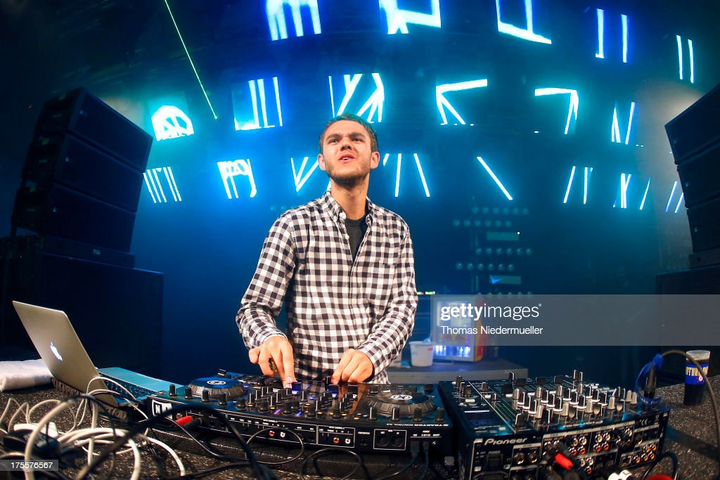 Zedd performs at the 'Nature One' massive rave, held at the former US rocket base Pydna on August 3, 2013 in Kastellaun, Germany.
