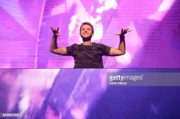 Zedd performs during Day One of 2017 Billboard Hot 100 Festival at Northwell Health at Jones Beach Theater on August 19 2017 in Wantagh City