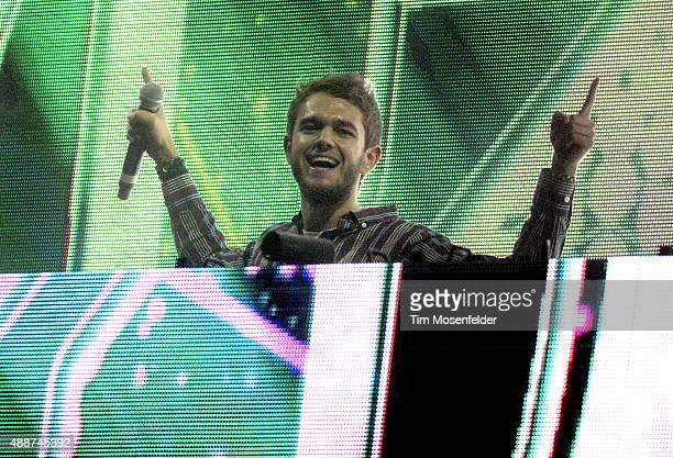 Zedd performs during his 'True Colors' tour at the Bill Graham Civic Auditorium on September 16 2015 in San Francisco California
