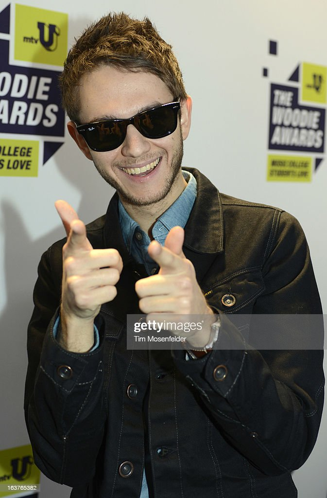 <a gi-track='captionPersonalityLinkClicked' href=/galleries/search?phrase=Zedd+-+Musician&family=editorial&specificpeople=5830568 ng-click='$event.stopPropagation()'>Zedd</a> poses at the mtvU Woodie Awards on March 14, 2013 in Austin, Texas.