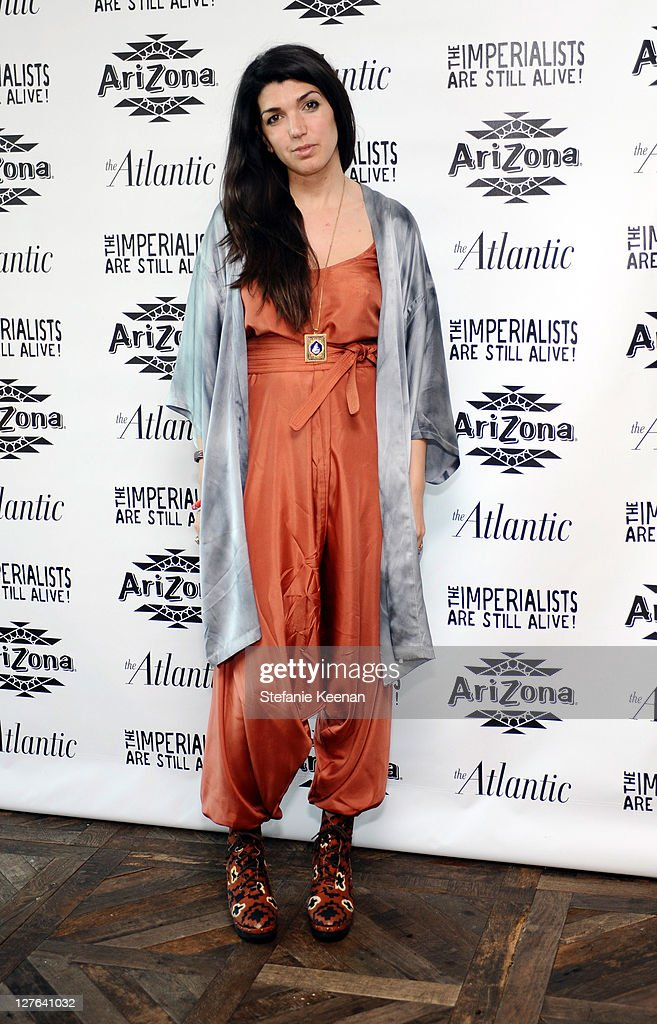 Zeinda Durra attends The Atlantic Magazine And AriZona Beverages Los Angeles Premiere Of 'The Imperialists Are Still Alive!' at Soho House on April 19, 2011 in West Hollywood, California.
