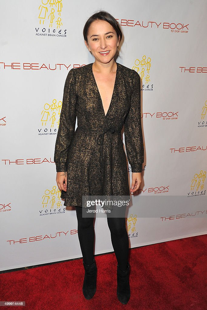Zelda Williams arrives at 'The Beauty Book For Brain Cancer' edition 2 launch party at Le Jardin on December 3, 2015 in Hollywood, California.