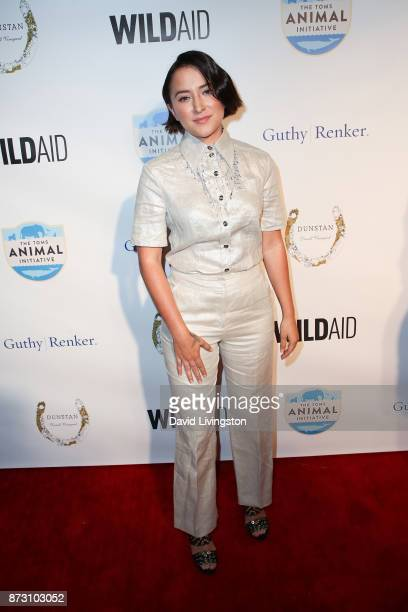 Zelda Williams arrives at the Evening with WildAid at the Beverly Wilshire Four Seasons Hotel on November 11 2017 in Beverly Hills California