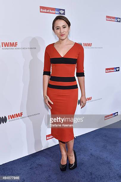 Zelda Williams attends 2015 International Women's Media Foundation Courage Awards Los Angeles at Regent Beverly Wilshire Hotel on October 27 2015 in...