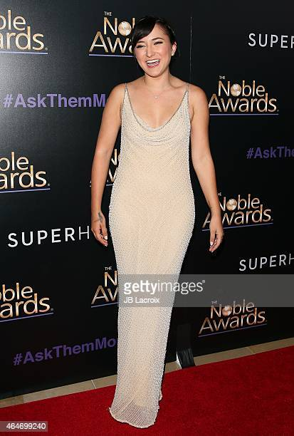 Zelda Williams attends the 3rd Annual Noble Awards held at the Beverly Hilton Hotel on February 27 2015 in Beverly Hills California