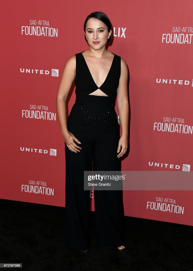 Zelda Williams attends the SAG-AFTRA Foundation Patron of the Artists Awards 2017 at the Wallis Annenberg Center for the Performing Arts on November 9, 2017 in Beverly Hills, California.