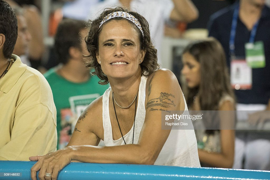 Zelia Duncan attends to the Rio Carnival in Sambodromo on February 8, 2016 in Rio de Janeiro, Brazil. Despite the Zika virus epidemic, thousands of tourists gathered in Rio de Janeiro for the carnival.