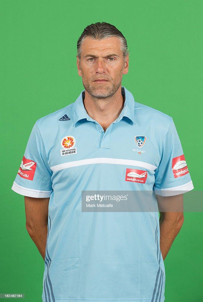 2013/14 Sydney FC Headshots Session