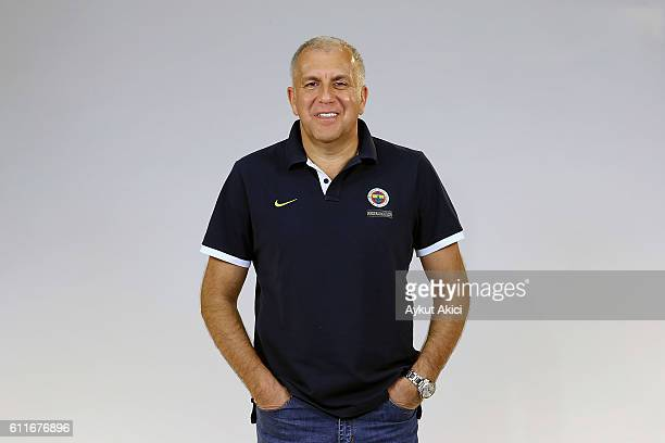Zeljko Obradovic Head Coach of Fenerbahce Istanbul poses during the 2016/2017 Turkish Airlines EuroLeague Media Day at Fenerbahce Ulker Sports Arena...
