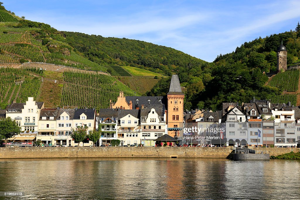 zell mosel valley germany stock photo getty images. Black Bedroom Furniture Sets. Home Design Ideas