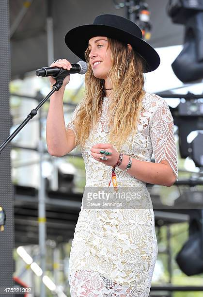 Zella Day performs at the 3rd Annual BottleRock Napa Valley Music Festival at Napa Valley Expo on May 29 2015 in Napa California