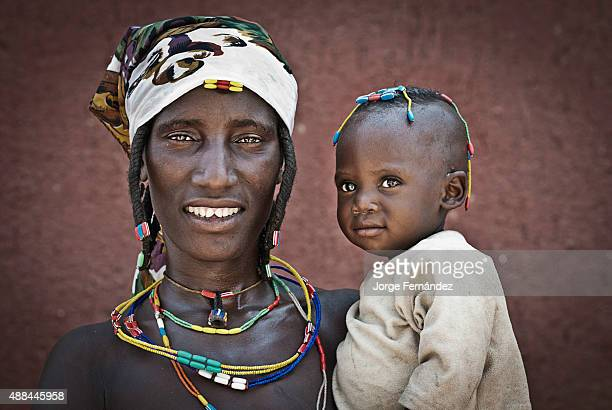 Zemba woman holding her child